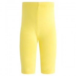 Basic - Legging 3/4 jaune