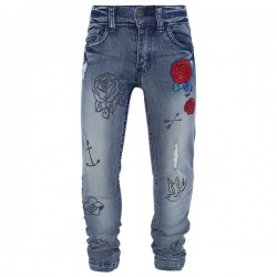 Tattoo - Jeans avec broderies