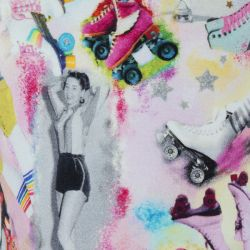 Prévente - Rollers - Robe imprimée