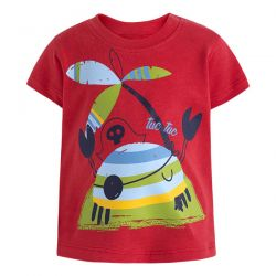 Prévente - Pirates - T-shirt rouge