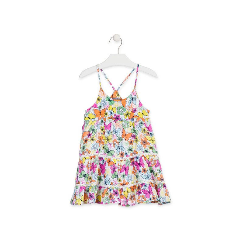 Prévente - Tropical Colors - Robe en voile imprimée