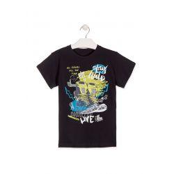 Prévente - Stay Wild - T-shirt marine