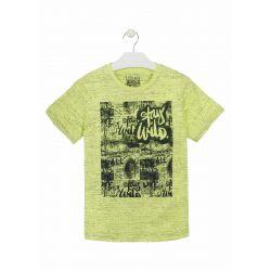 Prévente - Stay Wild - T-shirt vert