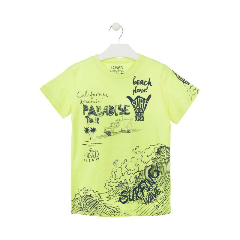 Prévente - Big Wave - T-shirt jaune