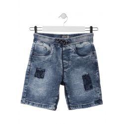 Prévente - Stay Wild - Bermuda en jeans