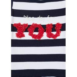 Prévente - Nice Day - Robe rayée marine
