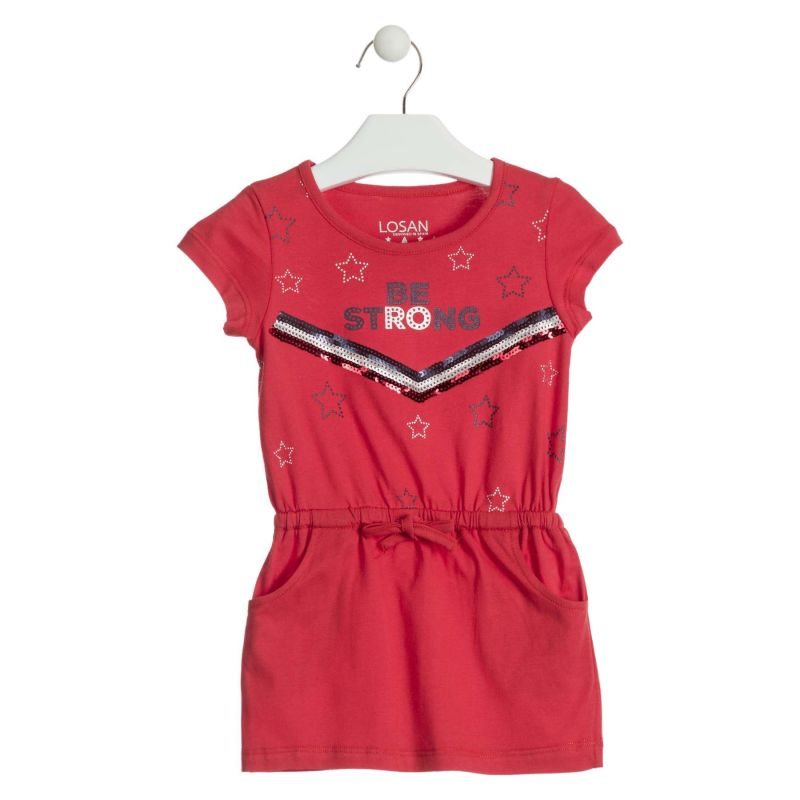 Prévente - Retro sport - Robe rouge
