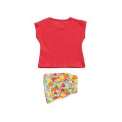 Prévente - Ens. t-shirt corail et short