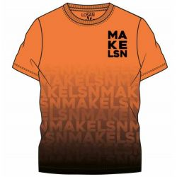 Prévente - T-shirt orange