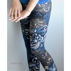 Legging Blue Danube
