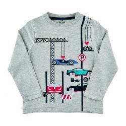 Prévente - T-shirt gris chiné