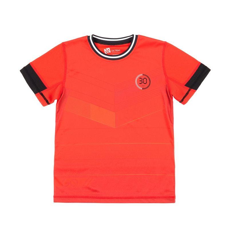 Prévente - En pleine action - T-shirt athlétique rouge
