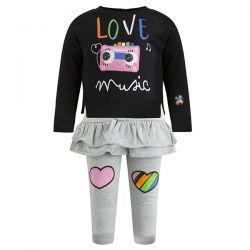 Prévente - Play Radio - Ens. Sweat-shirt et legging avec jupette