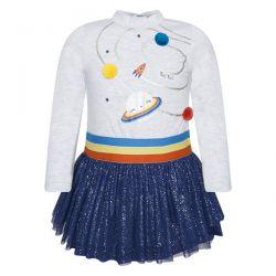 Prévente - Universe - Robe en jersey et tulle