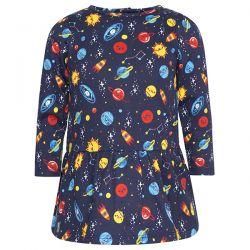 Prévente - Universe - Robe en molleton imprimé planètes