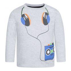 Prévente - Play Radio - T-shirt gris