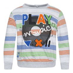 Prévente - Play Radio - Sweat-shirt rayé