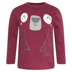 Prévente - Arctic Bears - T-shirt bourgogne