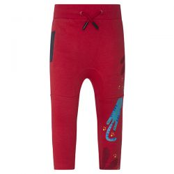 Prévente - Crazy Tiger - Pantalon en molleton rouge