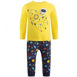 Prévente - The Universe - Ens. Pantalon molleton et t-shirt jaune