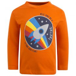 Prévente - The Universe - T-shirt orange