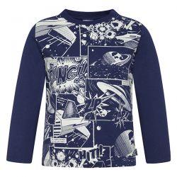 Prévente - Space - T-shirt bleu