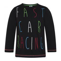 Prévente - Racer - T-shirt noir