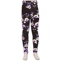 Legging enfant Purple Zanni