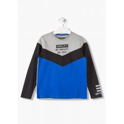 Prévente - Black & Color - T-shirt bleu électrique