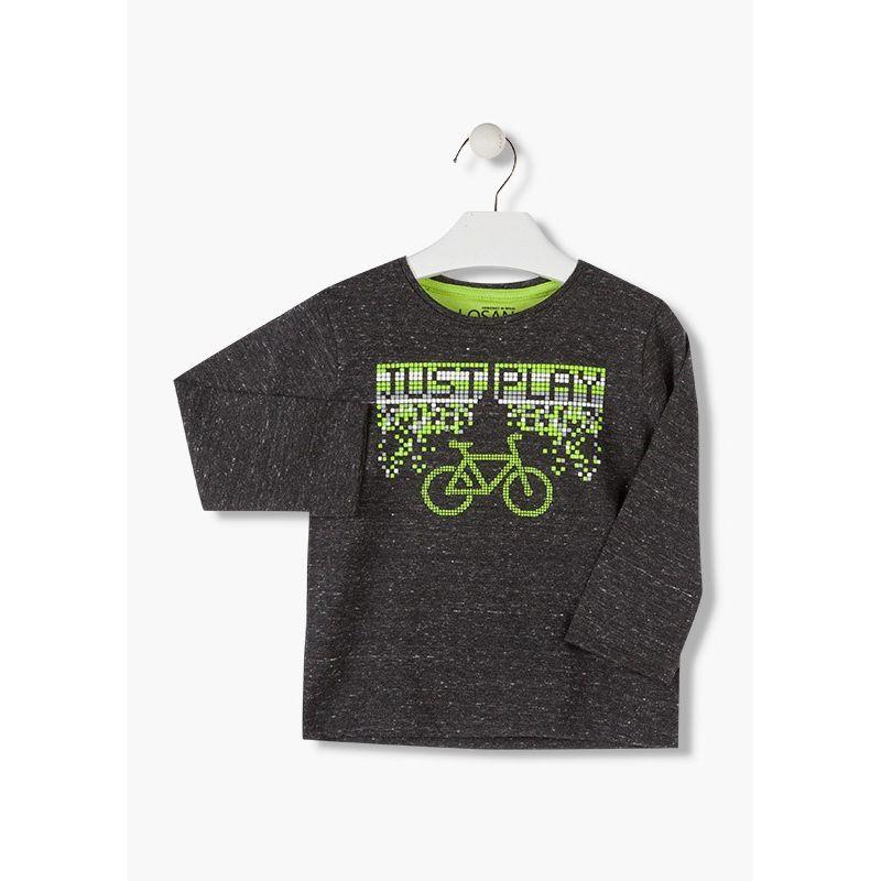 Prévente - Have Fun - T-shirt gris foncé
