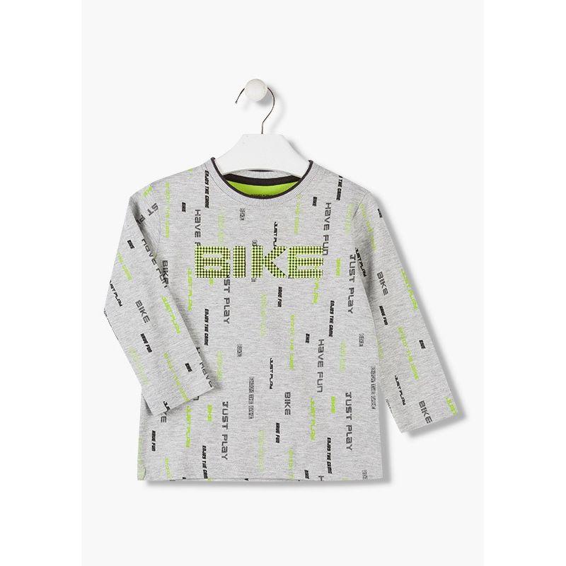 Prévente - Have Fun - T-shirt gris chiné