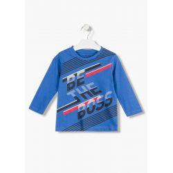 Prévente - College - T-shirt bleu électrique