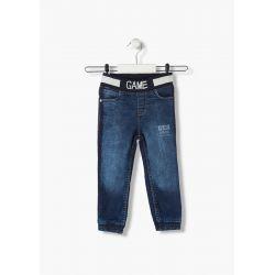 Prévente - college - Jeans mou bleu
