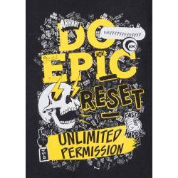 Prévente - Epic - T-shirt noir