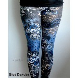 Legging Danube Blue