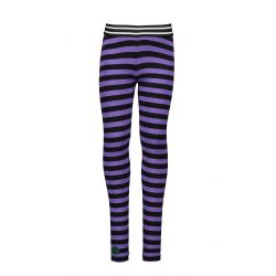 Prévente - On The Road - Legging grape purple avec bande latérale noire