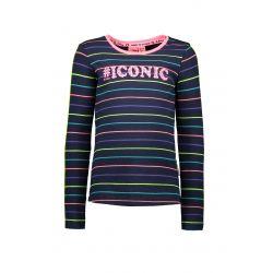 Prévente - Zebra Dot - T-shirt à rayures multicolores