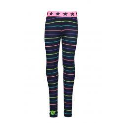 Prévente - Zebra Dot - Legging à rayures multicolores