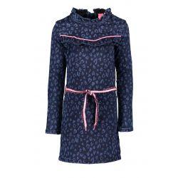 B. Unique - Robe en denim bleue
