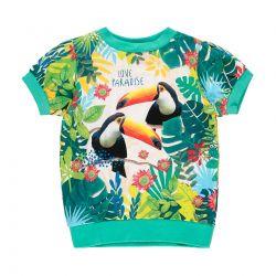 Prévente - Botanical Dreams - T-shirt émeraude