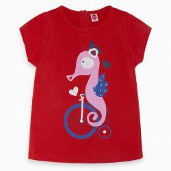 Prévente - Sea Riders - T-shirt rouge