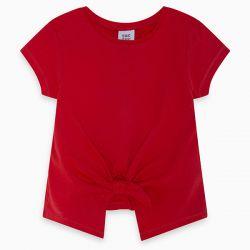Prévente - Basic - T-shirt rouge avec boucle