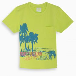 Prévente - Miami - T-shirt lime