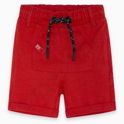 Prévente - Basic - Bermuda en jersey rouge