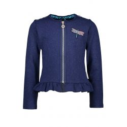 Prévente - Military - Cardigan space blue scintillant