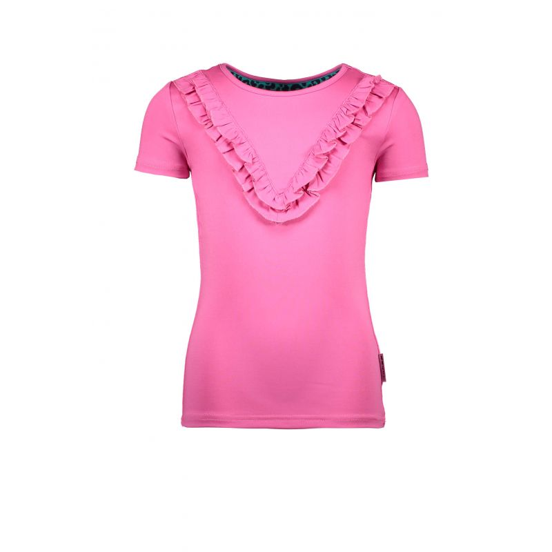 Prévente - StarStruck - T-shirt à volants sugar plum
