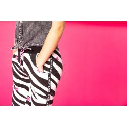 Prévente - StarStruck - Pantalon imprimé zèbre