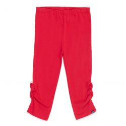 Prévente - Douceur Tropicale - Legging 3/4 rouge