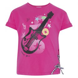 Prévente - Rockabilly - T-shirt fuschia