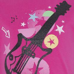 Prévente - Rockabilly - T-shirt fuschia